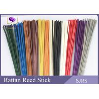 Quality Natural Red / Blue Reed Diffuser Replacement Sticks Bow Curly Shape for sale