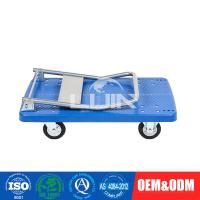 Wholesale Durable PVC Platform Hand Trolley for office / garage easy assemble from china suppliers