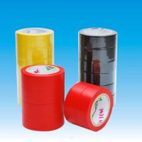 Wholesale Fixing / reinforcement PVC Insulation Tape , red / blue / green pipe wrap heat tape from china suppliers