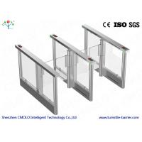 Wholesale Electrical Security Flap Gate Turnstile Entrance With Ir Sensors from china suppliers