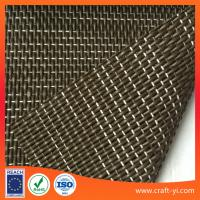Wholesale textilene fabric suppliers in 1*1 woven for door mat or foot pad etc fabrics from china suppliers