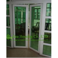 Wholesale Custom UPVC Casement Door For ResidentialHome,White Color Profile Vinyl Swing door from china suppliers
