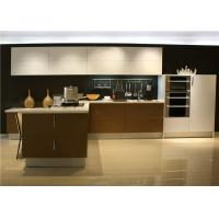 Wholesale L Shaped Plywood UV Kitchen Cabinet Lacquer Finish Contemporary European Style from china suppliers