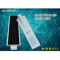 Wholesale High Lumens Automatic On/Off All-in-One LED Solar Street Lights 6M height 30W 26AH from china suppliers