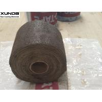 Quality DARK brown petro tape for corrosion protection of buried or exposed or marine pipes rods, cables, valves metal fitting for sale