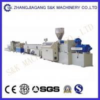 Wholesale High Extrusion Capacity Ppr Pipe Extruder Machine Line 130 Kg Per Hour from china suppliers