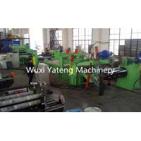 Quality Coil Straightening Steel Slitting Lines With Side Guide Device / Hydraulic System for sale