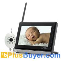 Wholesale Monitor Buddy - 4 Channels Wireless Baby Monitor (7 Inch LCD, Night Vision) from china suppliers