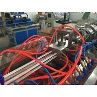 Quality Four Cavities PVC Trunking Cable Duct Profile Extrusion Line With ABB Inverter for sale