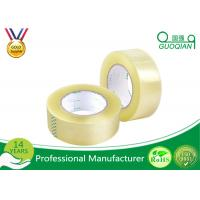 Wholesale Clear Yellowish Bopp Packing Tape Strong Water Glue Bopp Adhesive Tape Easy Tear from china suppliers
