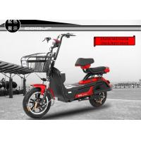 Quality Electric Pedal Moped Street Bike , Electric Scooter With Seat For Adults for sale