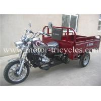 Wholesale Shaft Drive 5 Speed Disc Brake Cargo Motorcycle Tricycles , Three Wheel Cargo Motorcycle from china suppliers