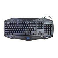 Quality K400 Wired Gaming Computer Keyboard LED Light Adjustable With Letter Illumination for sale