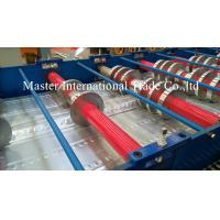 Wholesale High Speed Steel Structural Metal Deck Roll Forming Machine With Pre - Cutting from china suppliers