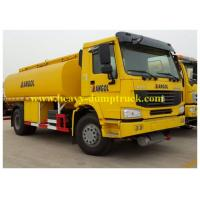 290hp HOWO Oil Tank Truck  20 CBM fuel tanker with 6x4 drive chassis right hand drive optional