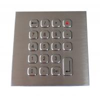 Wholesale 19 Keys Water Proof Metal Keypad Stainless Steel PS2 USB RS232 RS485 available from china suppliers