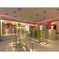 Wholesale Metal Retail Garment Shop Fittings Modern Style Customized With Promotion Shelf from china suppliers