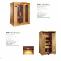 Wholesale Luxury Solid Wood Portable Sauna Room 3 People Cedar Material For Relaxing from china suppliers