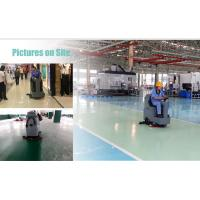 Quality Supermarket ride on electric commercial robot floor scrubber cleaning machine for sale