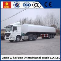 Wholesale 3 axles/tri-axle 45cbm q325 steel material fuel tank semi trailer from china suppliers