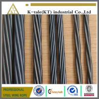Wholesale china factory low relaxation high tensile Prestressed Steel Strand steel wire cord from china suppliers