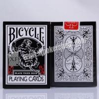 Wholesale Black Tiger Ellusionist Plastic Marked Poker Cards Side Barcode For Poker Analyzer from china suppliers