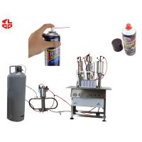 Wholesale Semi Automatic Aerosol Filling Machine for Carburetor Cleaning Agent from china suppliers