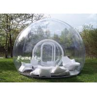 Wholesale Large Inflatable Bubble Tent With Tunnels ,  Durable PVC Tarpaulin Bubble Show from china suppliers