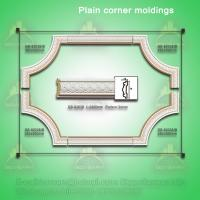Wholesale High Density Architectural PU Decorative Corner Moulding from china suppliers