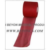 Wholesale No Adhesive Breathable Sports Pre - wrap Tape For Skin Protection red color from china suppliers