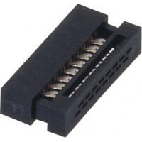 Wholesale 1.27mm 16 Pin Idc socket  Connector PBT black  30%GF UL94V-0  ROHS from china suppliers