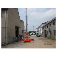 Quality Business Hall Self Propelled Hydraulic Work Platform With Lift Height 14 M for sale