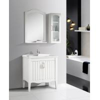 Wholesale 2 Doors Ceramic Bathroom Vanity mirrored stainless steel with Soft Closing Sliders from china suppliers
