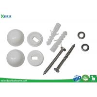 Wholesale Stainless Steel Toilet Closet Bolts Cross Headed With PP Decoration Cap from china suppliers