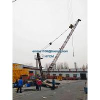 Wholesale Customized QD2025 Derrick Tower Crane On Top Building 75-150M Height from china suppliers