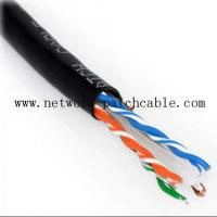 Wholesale Utp Ftp Sftp Cat6 Shielded Outdoor Cable Weatherproof External Grade Cat6 Cable from china suppliers