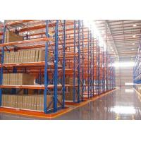 Quality Custom Logistics Heavy Duty Storage Racks , Warehouse Pallet Racking System Multi Level for sale