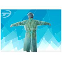Wholesale Medical Lab Breathable Disposable Scrub Suits Non woven With Shirt Collar Knitted Cuff from china suppliers