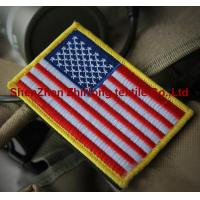 Wholesale American flag military embroidery badge patches armband from china suppliers