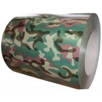 Buy cheap SGS Multi Camouflage Color Coated Steel Coil 0.20 - 1.2MM Thickness from wholesalers