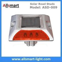 Wholesale 6 LED Solar Road Studs Solar Driveway Warning Lights Solar Highway Marker Lights Pedestrian Crossings Warning Lights from china suppliers