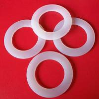 Wholesale Customized Size White NBR, Silicone ,EPDM, Viton, Vulcanized Fiber Washer / Rubber Sealing Washer With Oil-Resistant from china suppliers