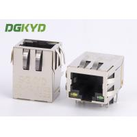 Wholesale Integrated magnetic cat 5e RJ45 ethernet connector with transformer RJ45 PCB Socket from china suppliers
