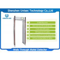 Buy cheap High Sensitivity Waterproof Security Walk Through Metal Detector For Outdoor Use UZ800 from wholesalers