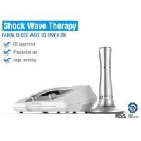 Wholesale Shockwave Therapy Physiotherapy Equipment , Shockwave Treatment For Tennis Elbow from china suppliers