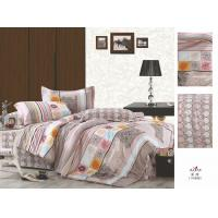 Wholesale Hotel / Family Plum Brown Patterned King Size OEM 100 % Cotton Colorful Bedding Sets from china suppliers