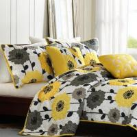 Wholesale 100% Cotton Fantastic Floral Patchwork Quilt Set For Home Decoration from china suppliers