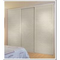 Custom Louvered Closet Doors For Bedroom Modern Wavelike Interior Sliding Door For Closet Of