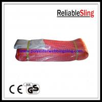 Wholesale CE / GS / ISO Certificated eye and eye Flat Webbing Sling for marine , power from china suppliers
