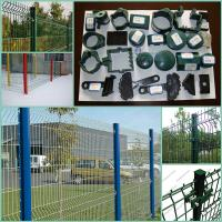 Wholesale Hot sale beautiful fence! pvc coated triangle bending fence with factory price from china suppliers